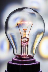 Außenlampe mit Bewegungsmelder Glühbirne