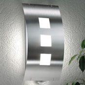 Edelstahl Außenlampe Wandleucht